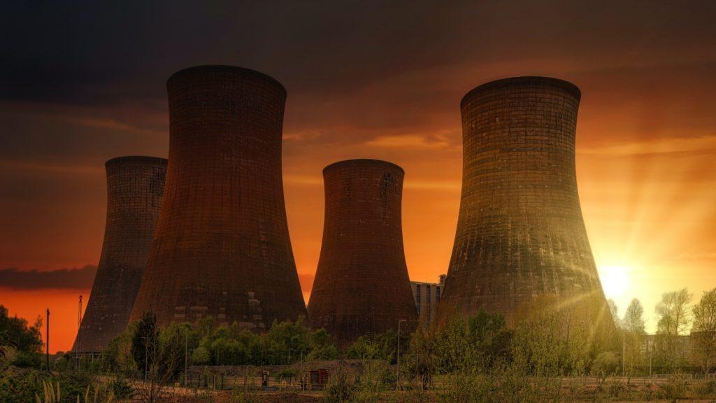 Sunset power plant